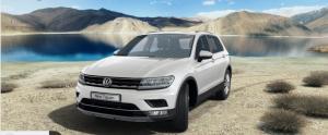 Volkswagen Tiguan Front White