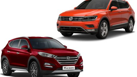 Volkswagen Tiguan vs Hyundai Tucson